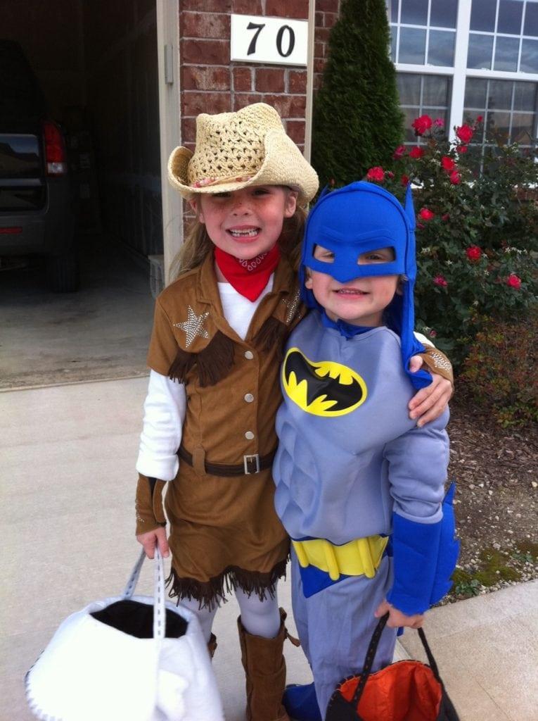 Halloween dress up - Delaney and Cooper