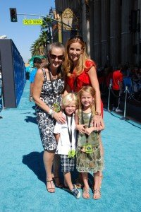 "Phineas and Ferb: Across the 2nd Dimension.  The ""Teal"" Carpet Premiere"