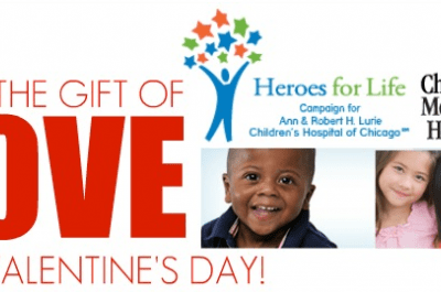 Giving The Gift Of Love For Valentine's Day  – Children's Memorial Hospital