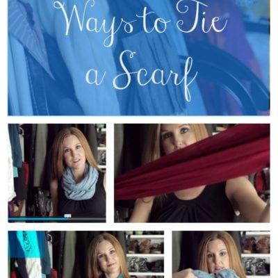 10 Ways to Tie A Scarf