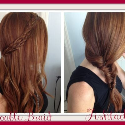 How to Hair Styles: Quick and Easy – Double Braid and Fishtail