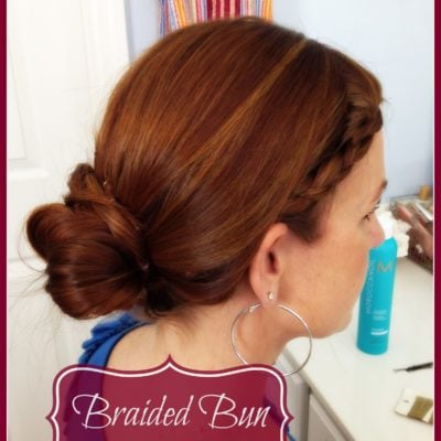 Hair Tutorial: Braided Bun