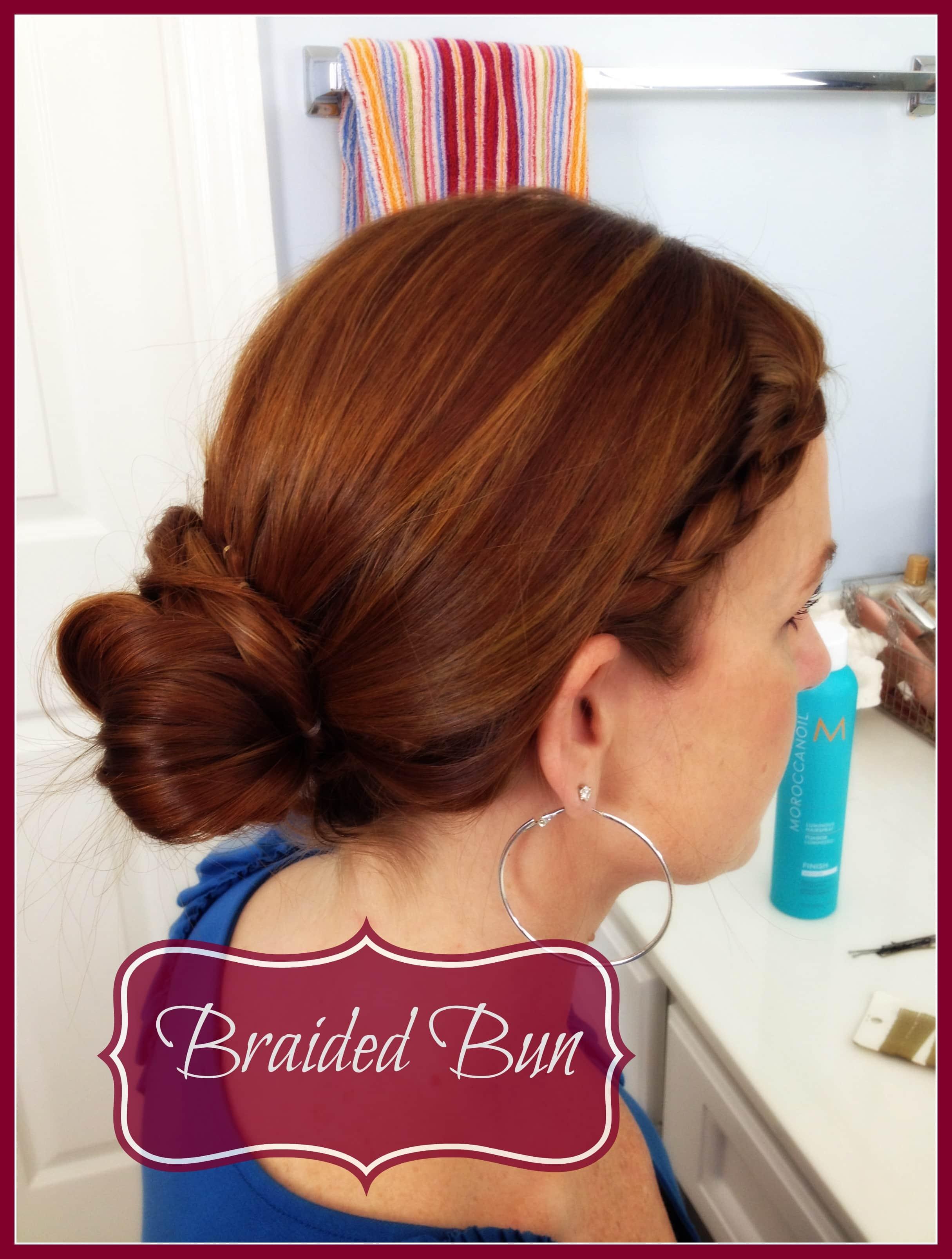 Hair Tutorial: BraidedBun Extraordinary Mommy