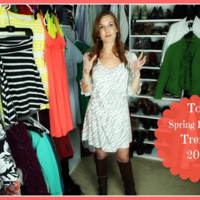 5 New Spring Fashion Trends
