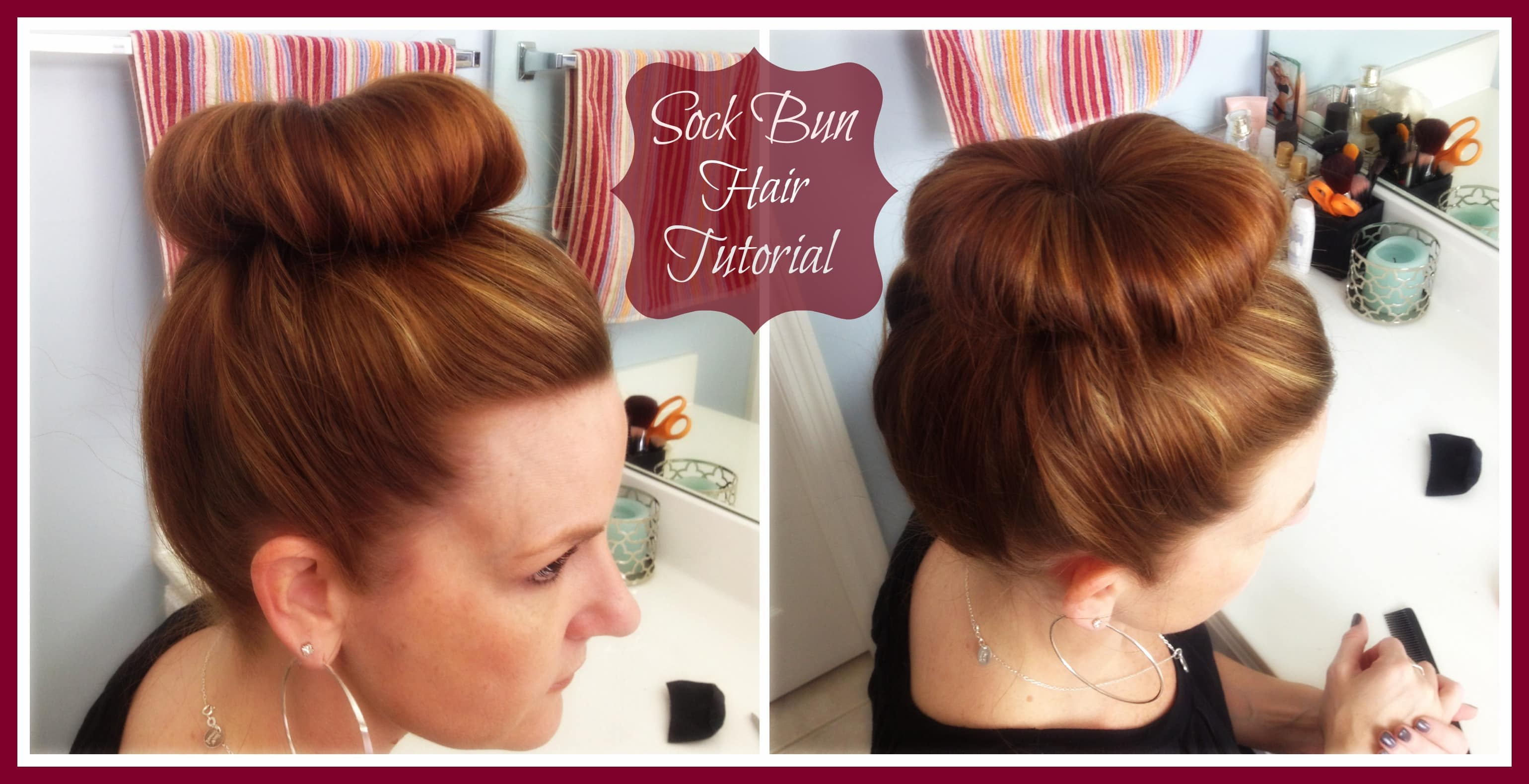 How to do a Sock Bun - Danielle Smith