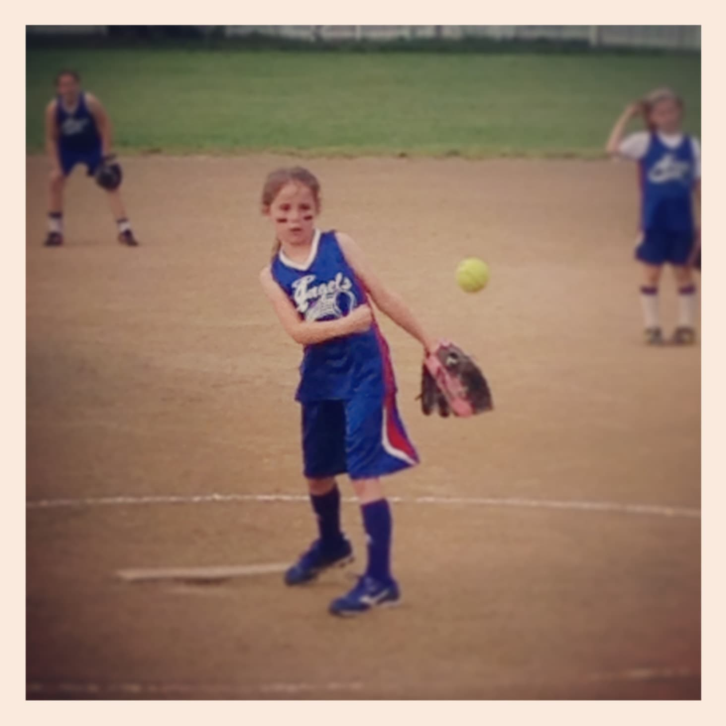 Delaney Pitching Softball