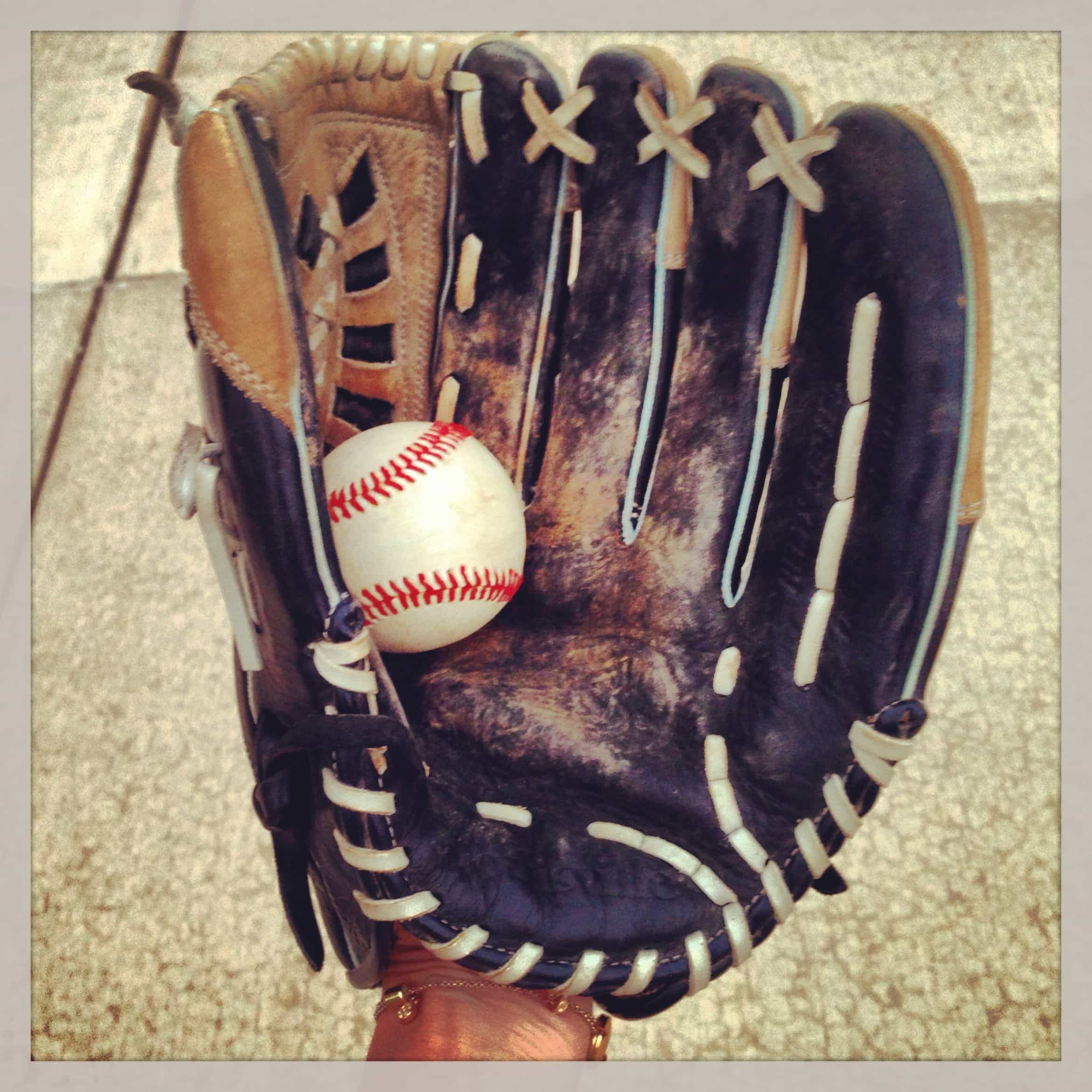 Glove with Baseball - Learning to Catch