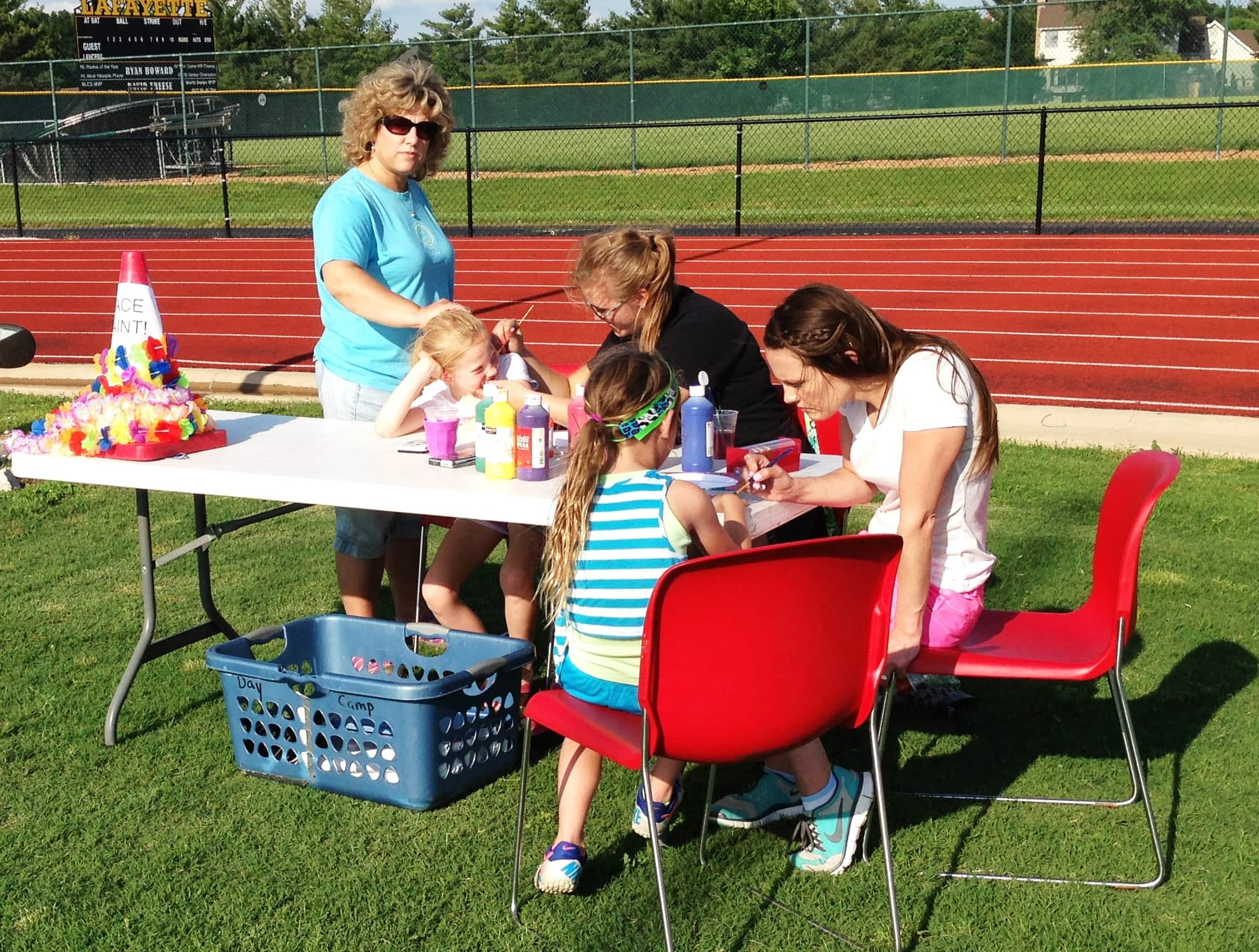 St. Louis Hershey Family Play Day Face Painting