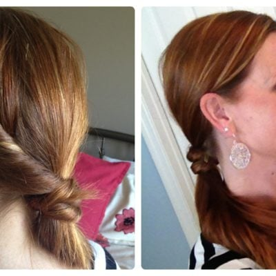 Hair Tutorial: How to do a Fancy Ponytail Twist