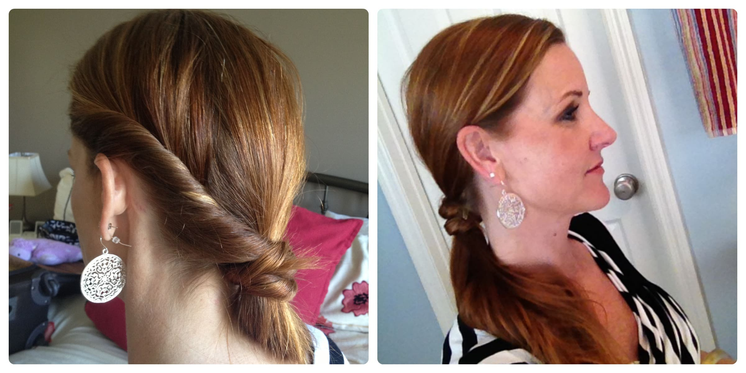 Hair Tutorial How To Do A Fancy Ponytail Twist