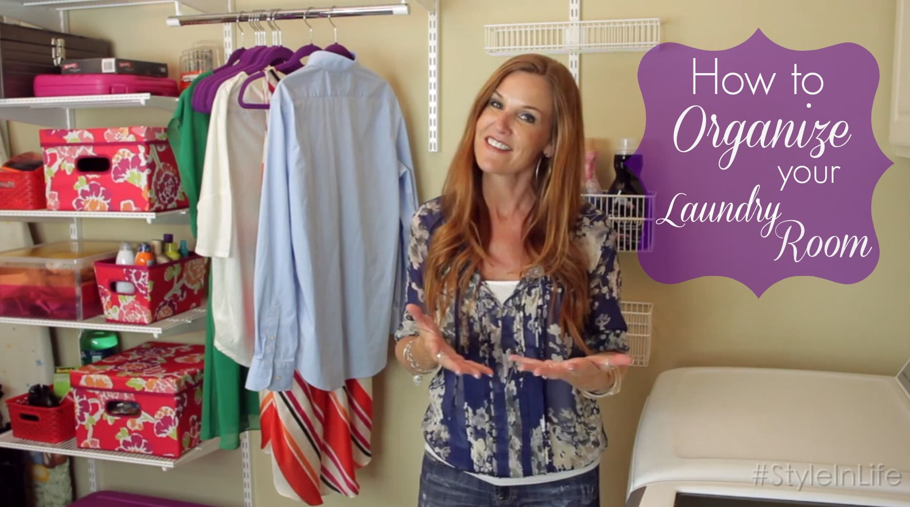 How to Organize Your Laundry Room - ExtraordinaryMommy.com