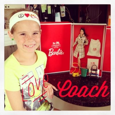 The Little Girl In Me: Sharing a Coach Barbie With My Daughter