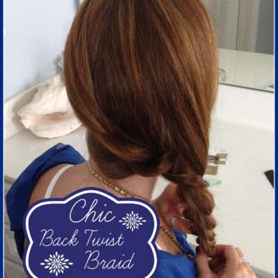 Hair Tutorial: Chic Side Twist Braid