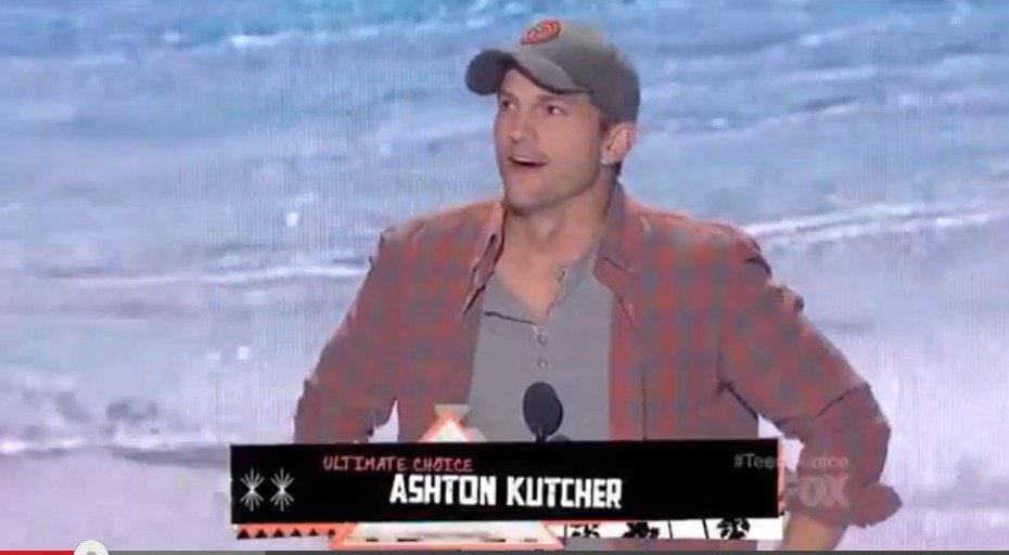Ashton Kutcher Teen Choice