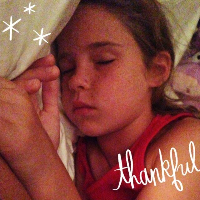 Delaney Asleep