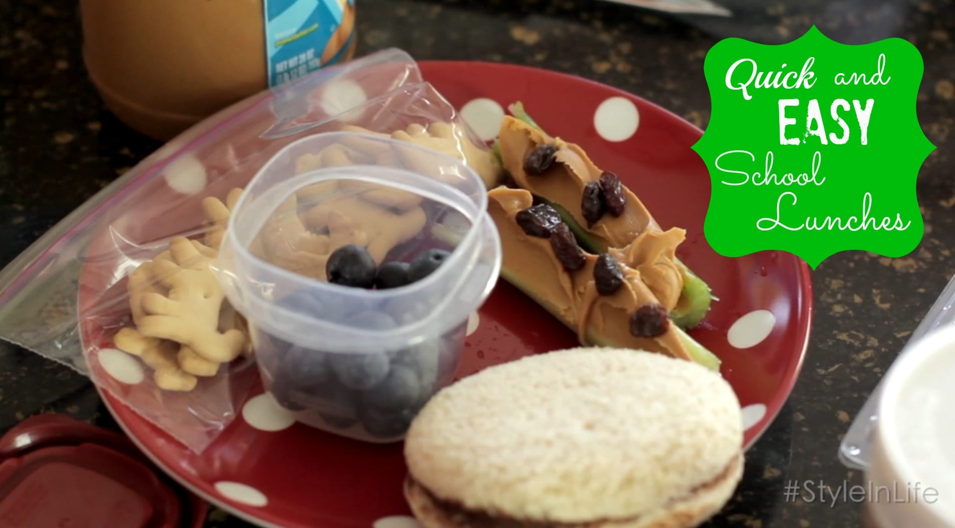Quick and Easy School Lunches - ExtraordinaryMommy.com