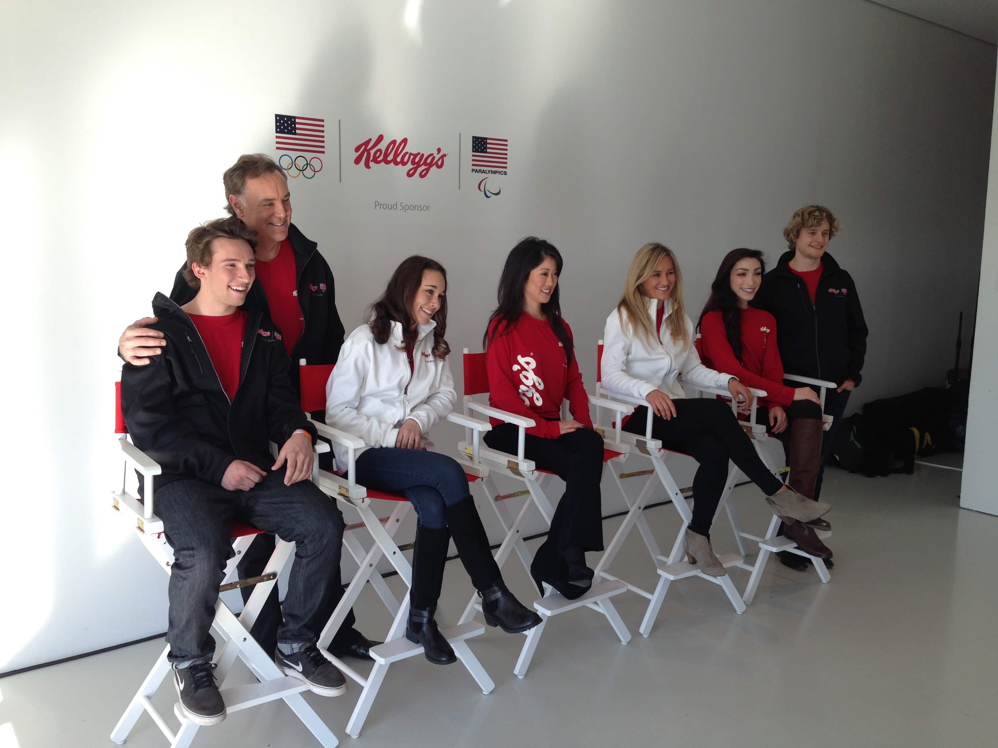 Kellogg's Great Start Olympic Athletes