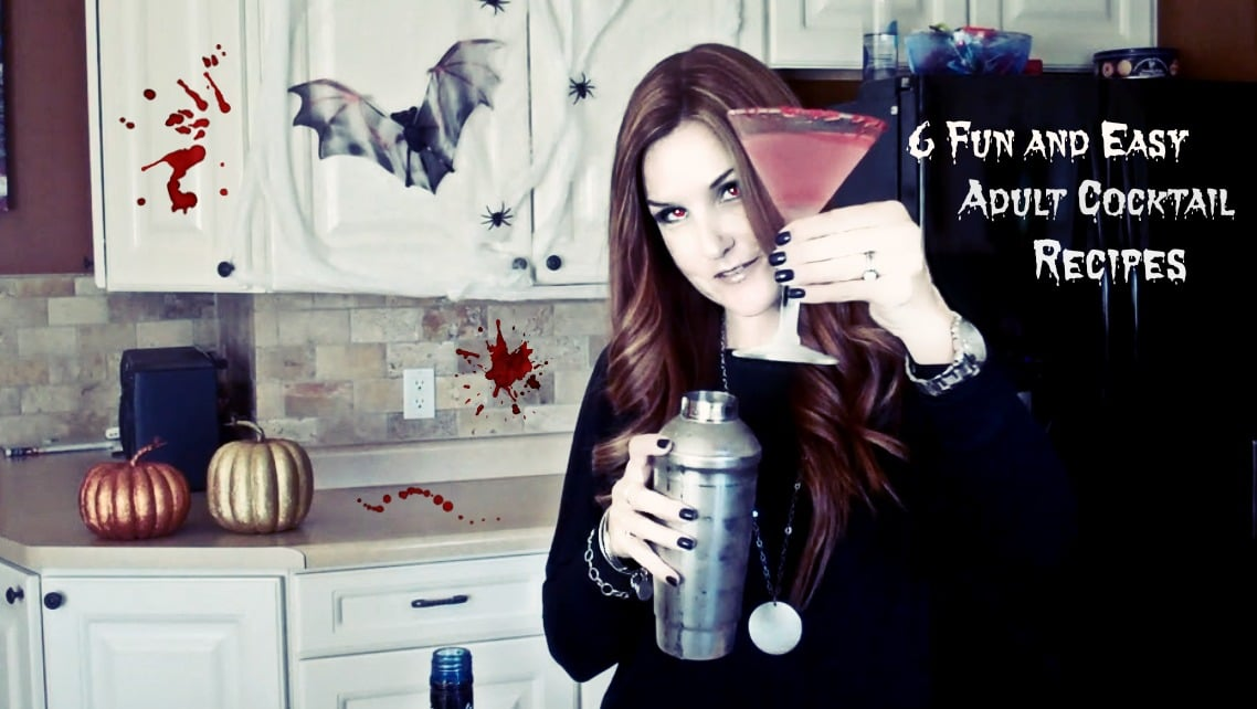 Halloween Adult Cocktails- Easy and Fun ExtraordinaryMommy.com