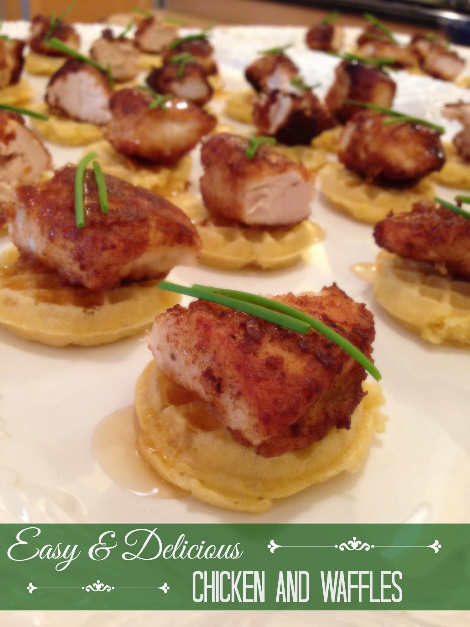 Chicken and Waffles Easy and Delicious! www.ExtraordinaryMommy.com