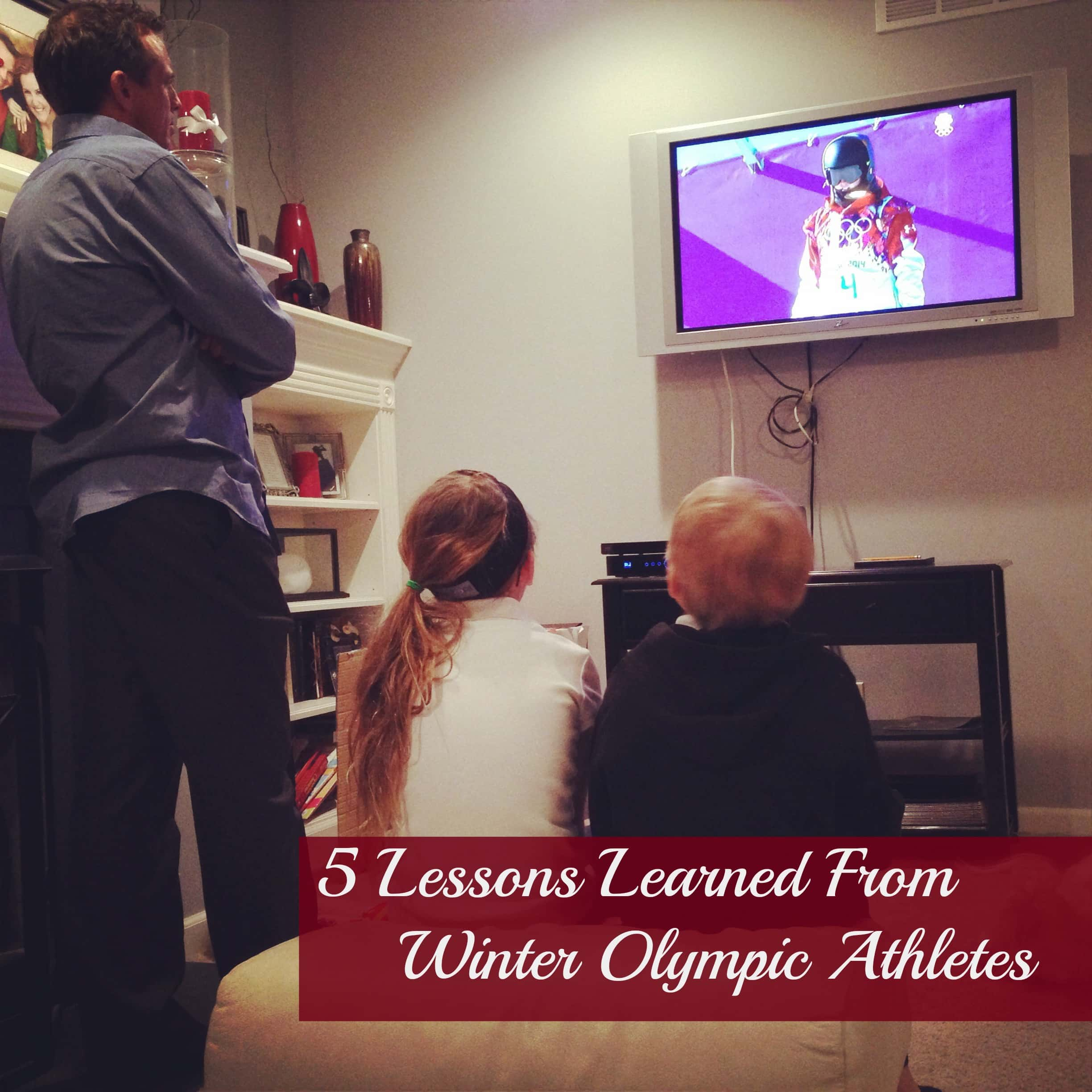 5 Lessons Learned From Winter Olympic Athletes