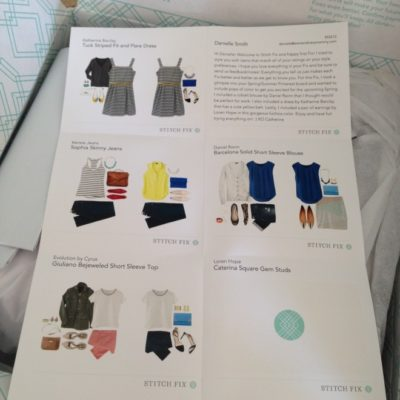 Why I Love Stitch Fix (Even though I Didn't Keep My First Box)