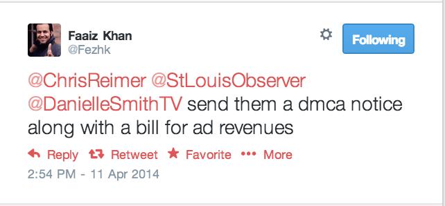 Twitter Stolen Content St Louis Observer