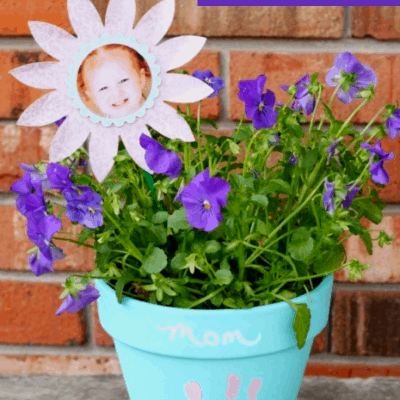 Create A Mother's Day Keepsake Flowerpot