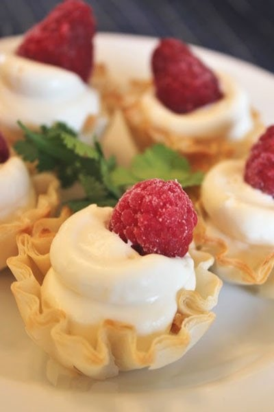 How to host a Summer Bridal or Baby Shower - Key Lime Mousse Cups