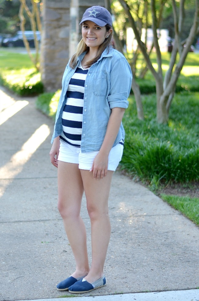 stripes for fourth of july
