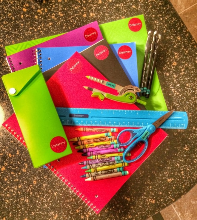5 Back to School Organization Ideas - Mabels Labels: ExtraordinaryMommy.com