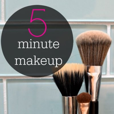 5 Minute Makeup Tutorial – Doing the Minimum for a Maximum Effect