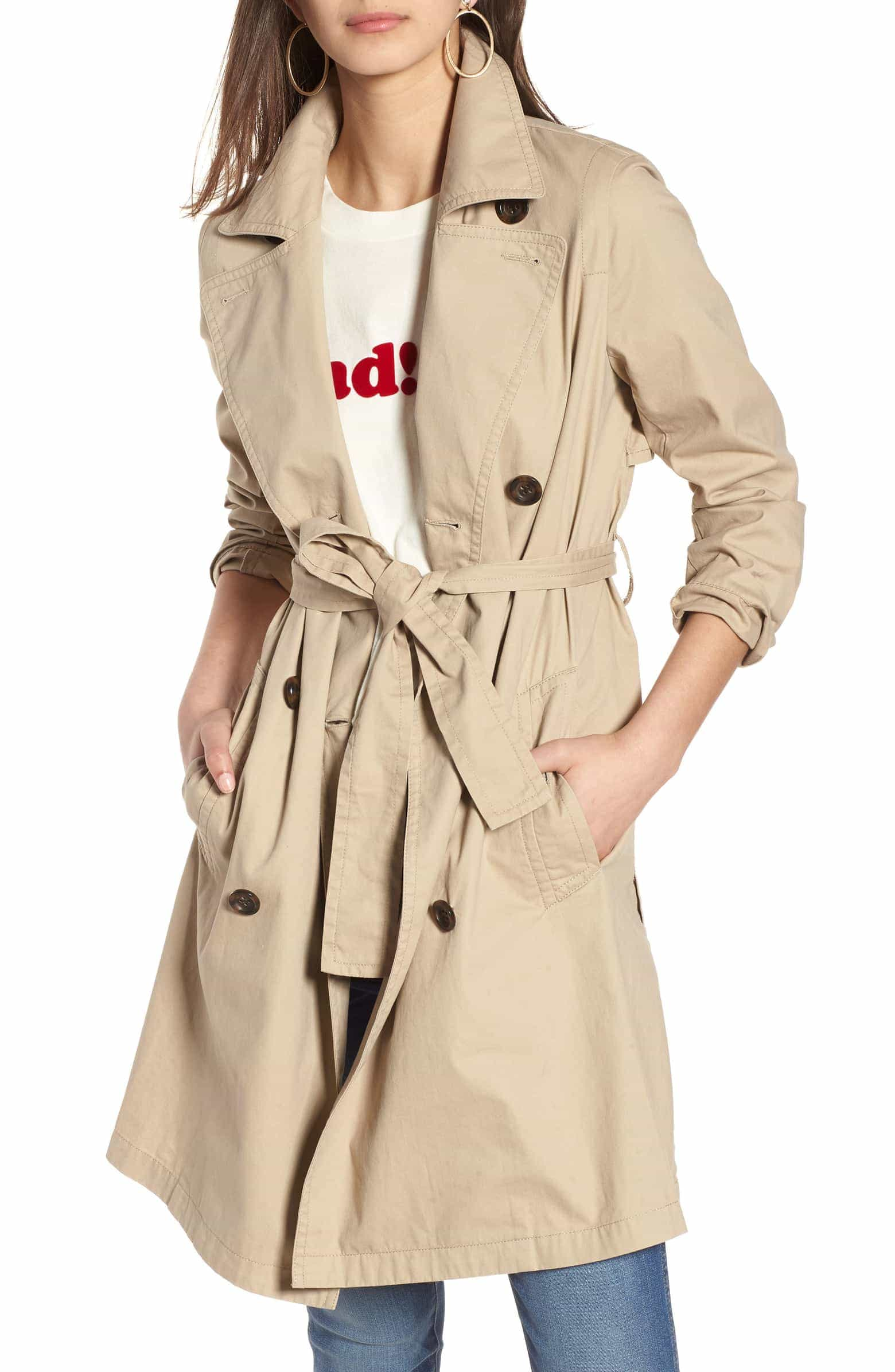 Fall Capsule Wardrobe - The Only 7 Pieces You Need - Trench Coat