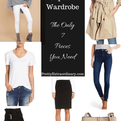 Fall Capsule Wardrobe – The Only 7 Pieces You Need