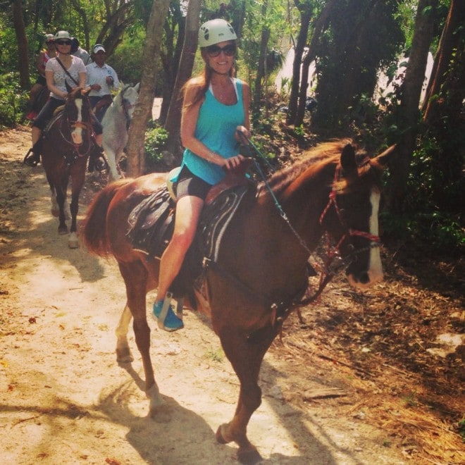 Generations Riviera Maya Horseback Riding
