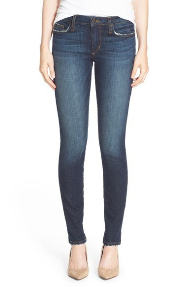 Fall Capsule Wardrobe - The Only 7 Pieces You Need - Nordstrom Joe's Honey Curvy Skinny Jeans
