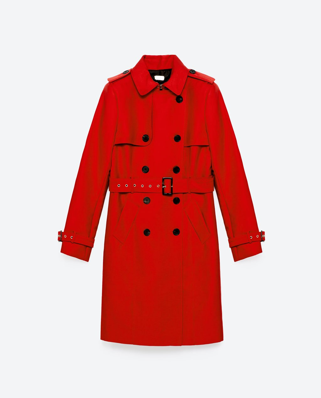 Fall Capsule Wardrobe - The Only 7 Pieces You Need - Zara Water Resistant Trench Coat