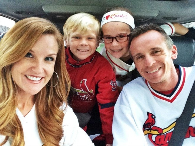 Cardinals Playoff Family