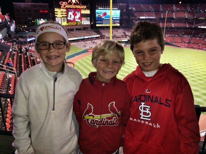 Cardinals Playoffs Kids Win