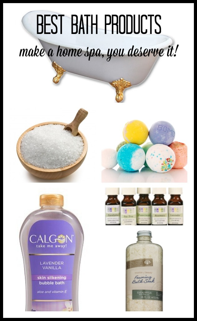 Best Bath Products (Make A Home Spa, You Deserve It!) - Pretty ...