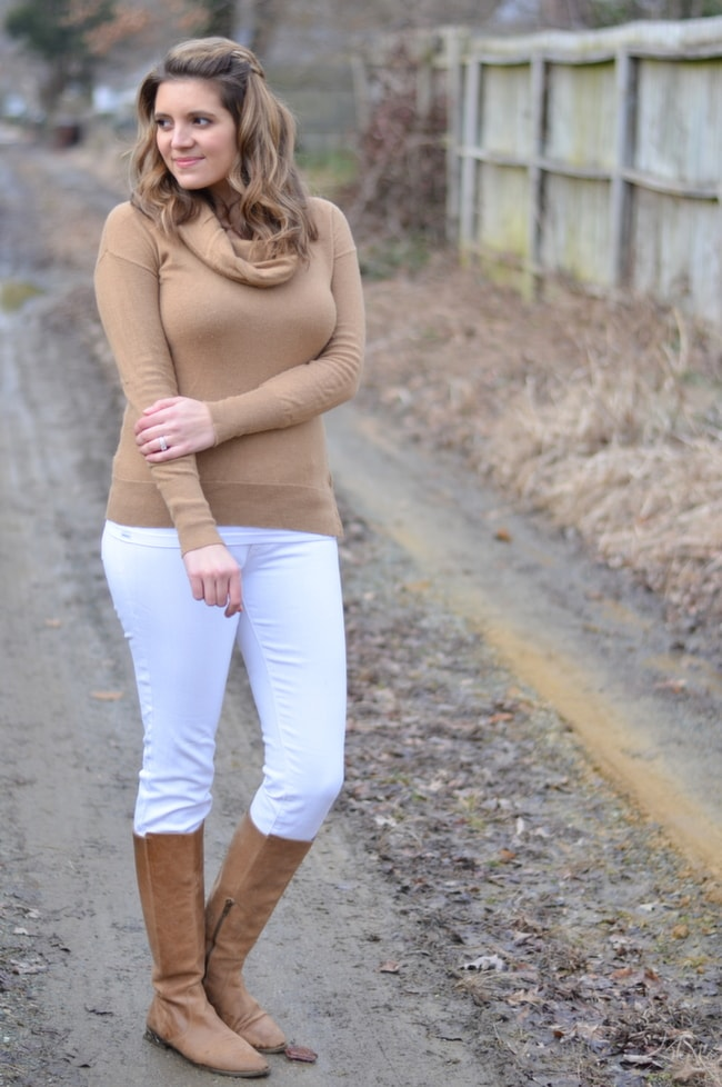 how wear white for fall