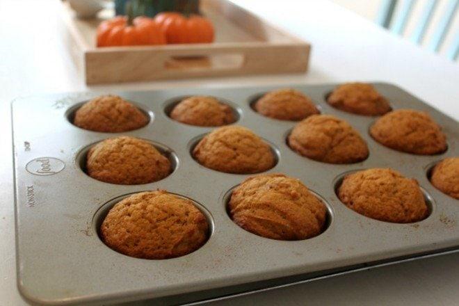 Glazed Pumpkin Muffins