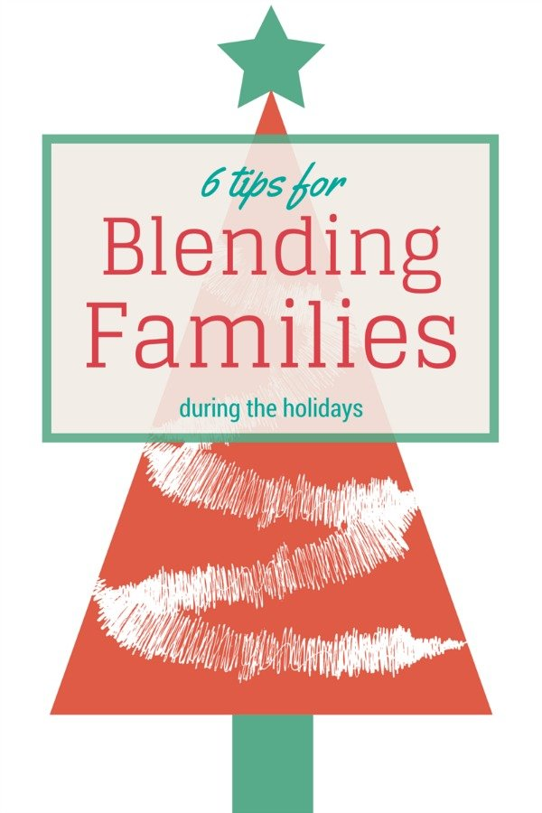 blending families during the holidays