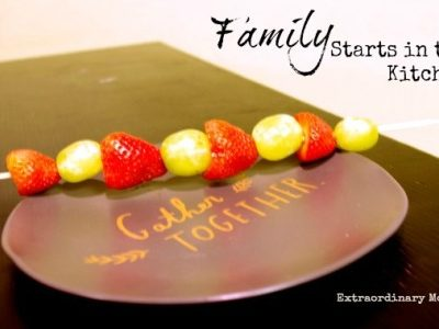 Family Starts in the Kitchen