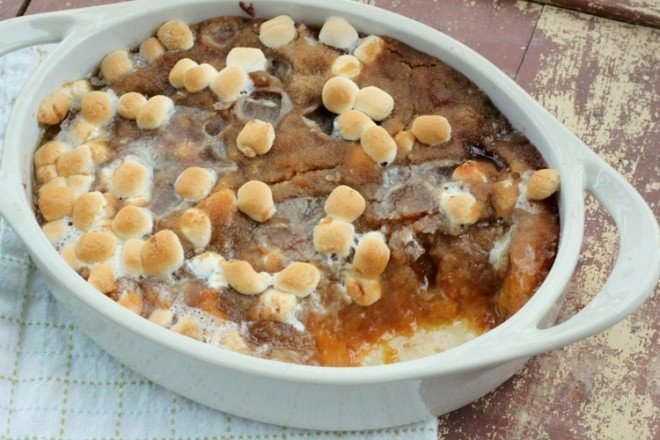 Sweet Potato Casserole - A Thanksgiving Side dish Favorite!