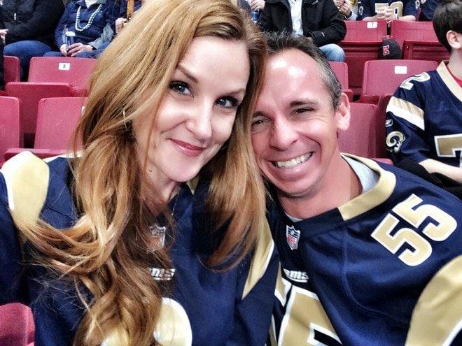 St. Louis Rams Jeff Danielle