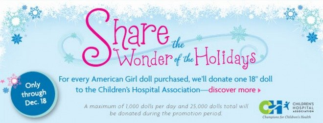 American Girl - Share the Wonder of the Holidays