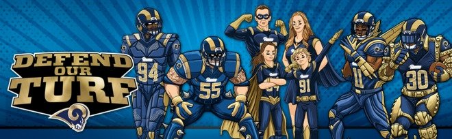 St. Louis Rams Defend Our Turf