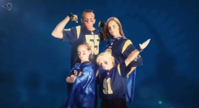 St. Louis Rams Defend Our Turf Commercial