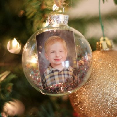 DIY Photo Keepsake Ornament