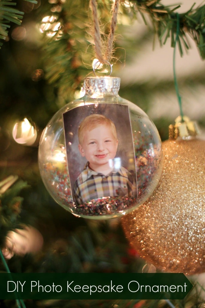 DIY Photo Keepsake Ornament